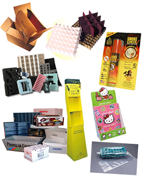 flexible plastics, rigid plastics, corrugated, industrials, foams, chip/folding carton, corrugated displays, contract packaging
